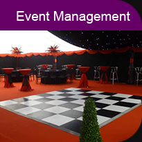 Marquee event management services in Liverpool and the North West by Aries Marquee Hire