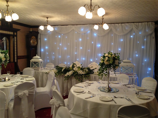 Venue Draping For Events And Weddings