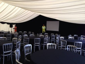 conference marquee hire