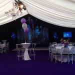 We complement all our marquees with an extensive range of accessories.