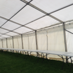 We offer a comprehensive service for Festival marquee hire in Liverpool and the North West