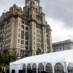 Marquee hire event for Liverpool's Gay Pride