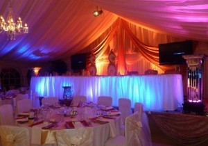 indian wedding marquee hire