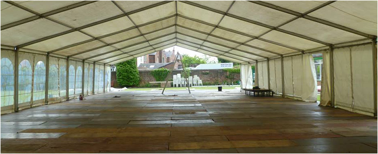 Industrial Marquees for hire in Liverpool, Manchester and the North West