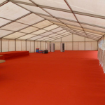 Preparation for a Marquee Corporate Event in Liverpool