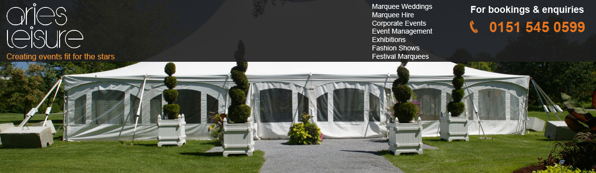 Marquee hire Liverpool for Weddings, Corporate events and Festival Marquee hire