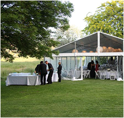 Outside Marquee hire is ideal for any event