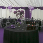Whether it's a big birthday, a milestone anniversary, a religious celebration, a graduation or retirement – in fact, any excuse for a good knees-up – hiring a marquee for your private party provides the perfect setting for a truly memorable night.