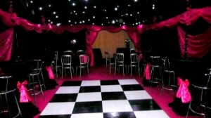 Marquee hire for super sweet 16th Parties
