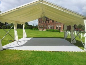 roof only marquee with linings - marquee hire liverpool