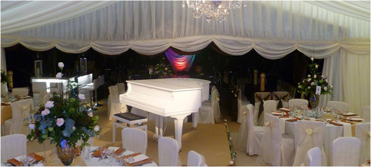 Setting up your marquee venue to your requirements