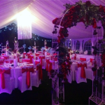 Your wedding marquee may be traditional or contemporary, simple or lavish.