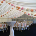 By the very nature of what we do, and marquee hire, every marquee and every event is completely different in almost every way.