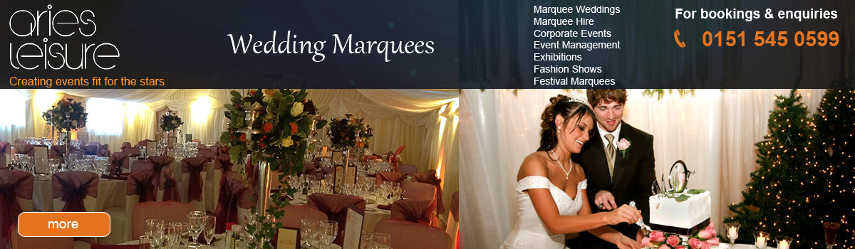 Wedding Marquee hire in Liverpool