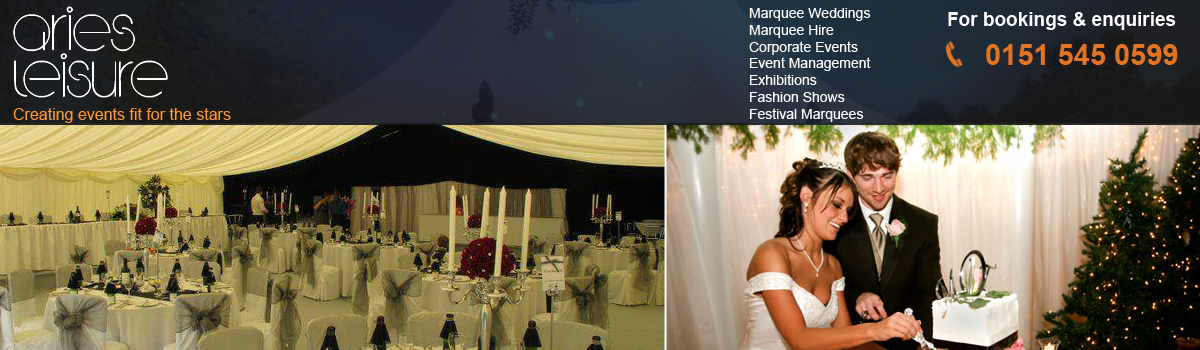 Wedding Marquee Hire in Liverpool and North West
