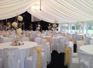 wedding marquee hire northwest