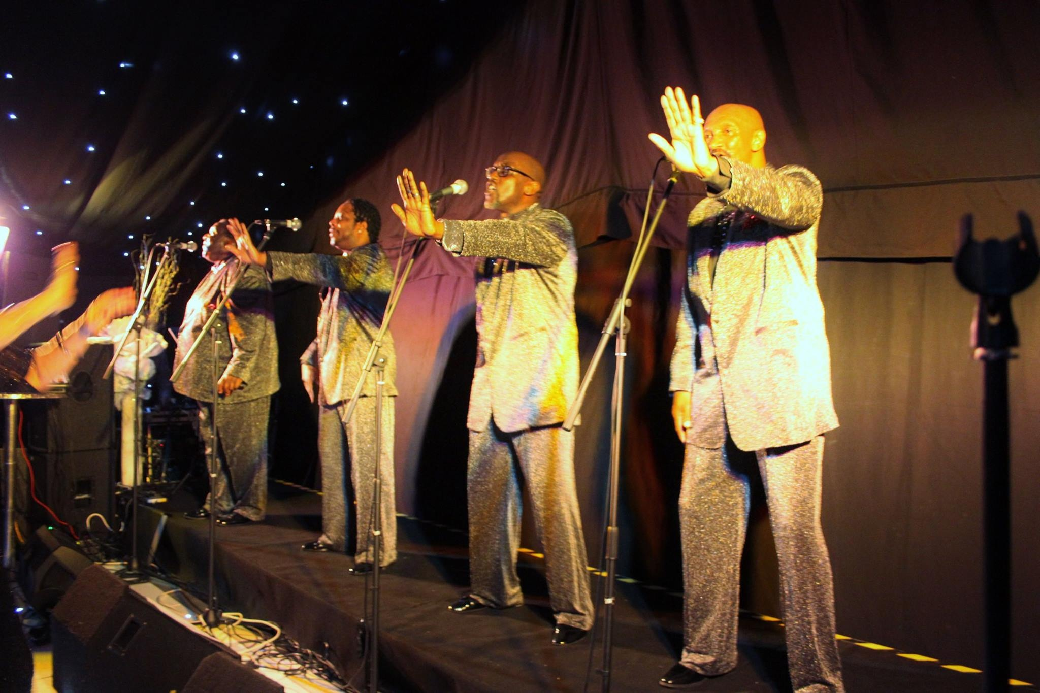 Four tops at marquee venue at liverpool cricket club