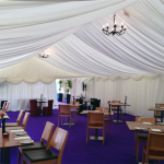 Our skilled Marquee construction teams work quickly, quietly and efficiently, utilising the most up to date equipment currently available