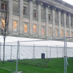 We can provide Corporate Marquees inside your own buildings or on your grounds, ideal if you have a special visit or an open day.