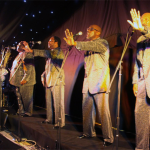 The Four Tops at the Liverpool Aigburth Cricket Club