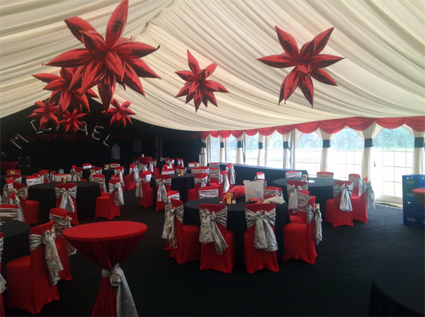 Party Venues Liverpool At Riversdale Police Club Marquee