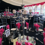 Stylish and impressive fittings to serve your Marquee event well