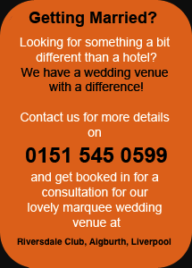 Exclusive Marquee Wedding Venue, Weddings On The Waterfront, Aigburth, Liverpool