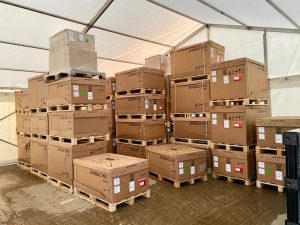 Marquee Hire For Temporary Storage
